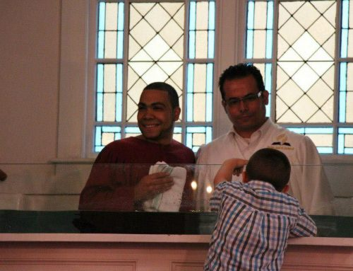 Baptizing Our Children – by Jose Cortes Jr.